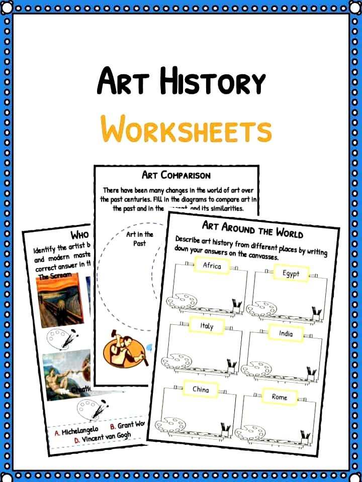 35+ Art history worksheets pdf info