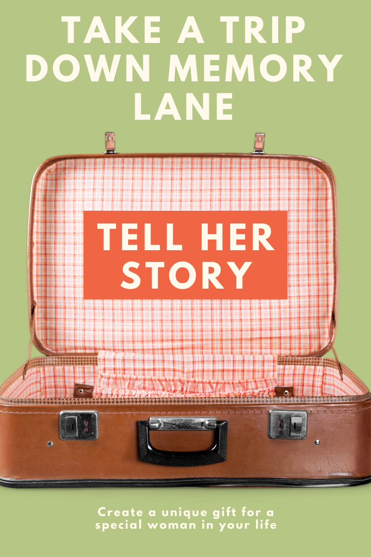 Tell Her Story Take A Trip Down Memory Lane In 2020 Story Telling Activities Stories Gift Story