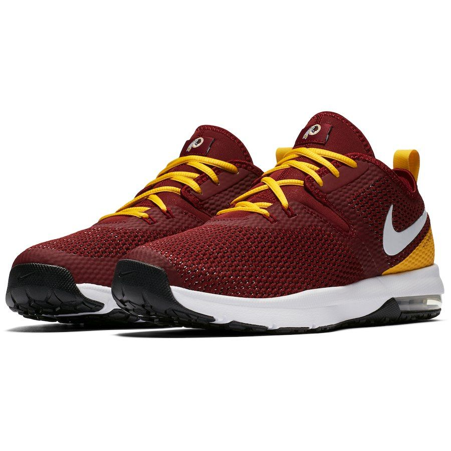 f946aad75c62 Men s Washington Redskins Nike Burgundy Gold Air Max Typha 2 Shoes ...