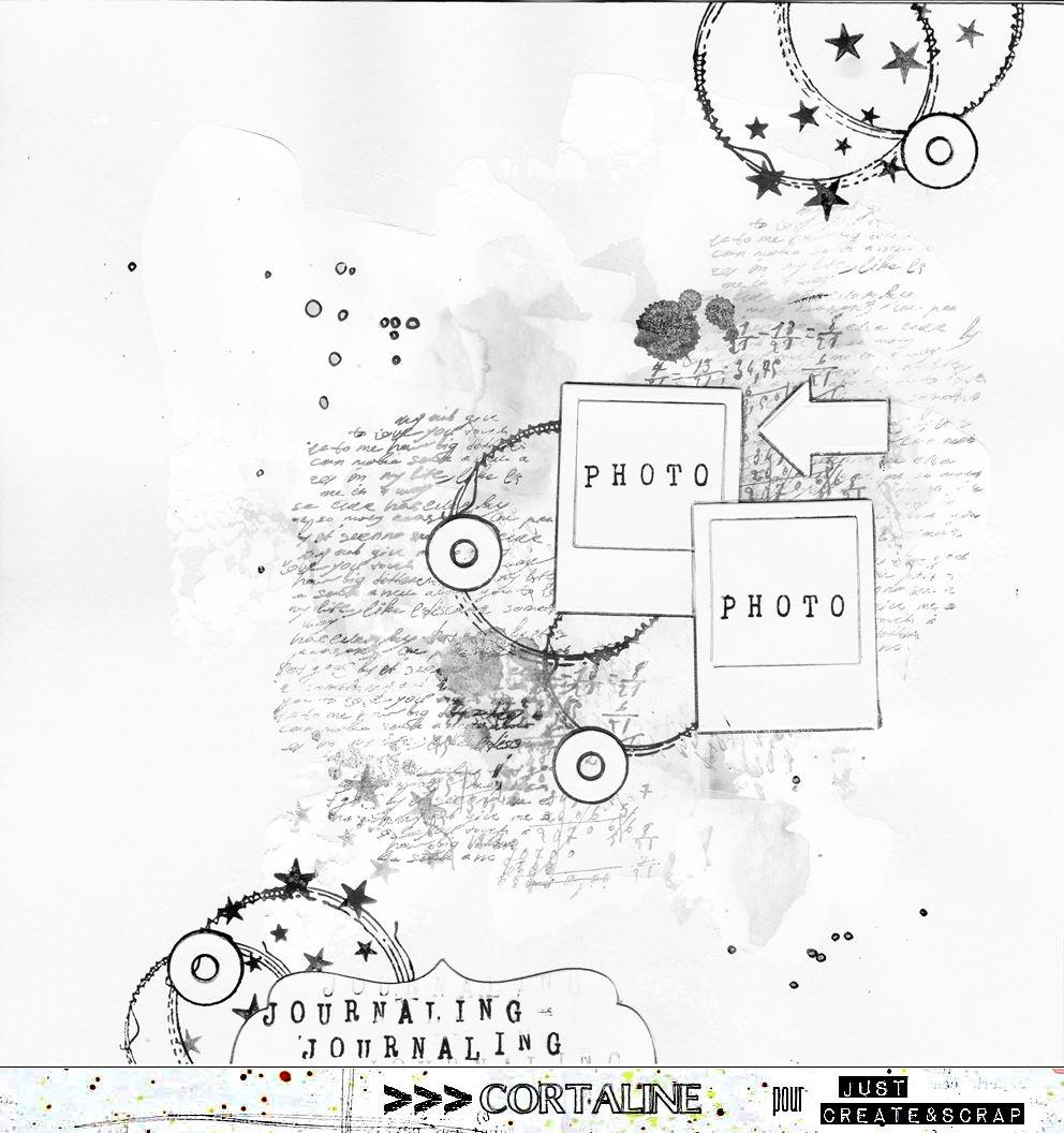 Sketch#223 – Challenge de Noël 4 | Sketches, Scrap and Scrapbooking