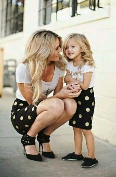 Matching mother daughter outfit  7dcf7c430eb