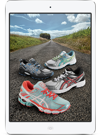 The ASICS Run in the Sun Sweepstakes - Enter to win one of 50 iPad Minis!
