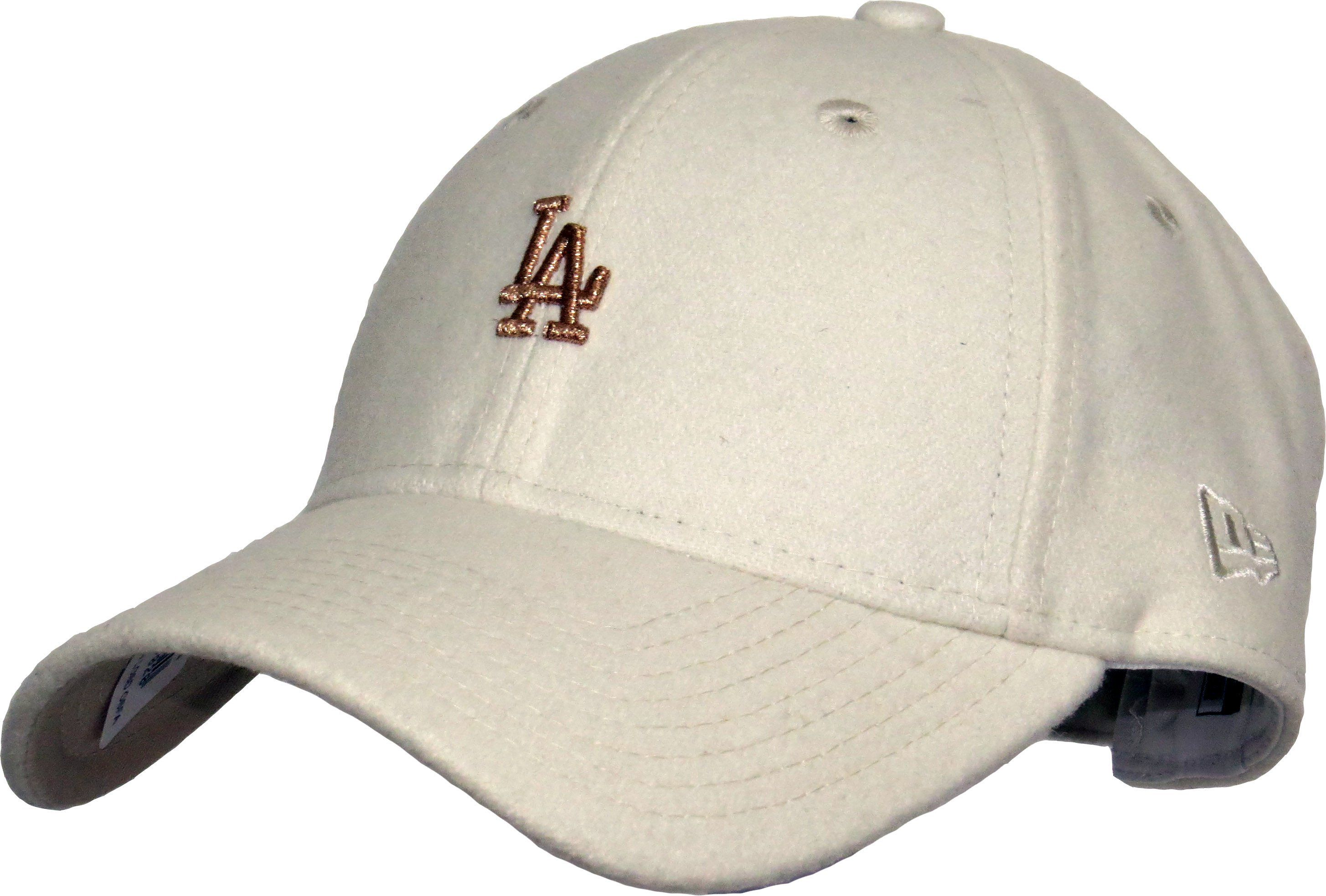 9ac76924af1 New Era 9Forty Womens Melton Wool Baseball Cap. Cream coloured