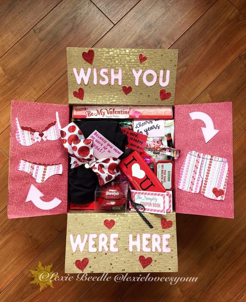 Military Care Package Ideas Valentine S Day Anniversary Deployment Creative Car Anniversary Care Package Valentines Day Care Package Military Care Package