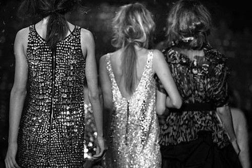 sparkle and hair...