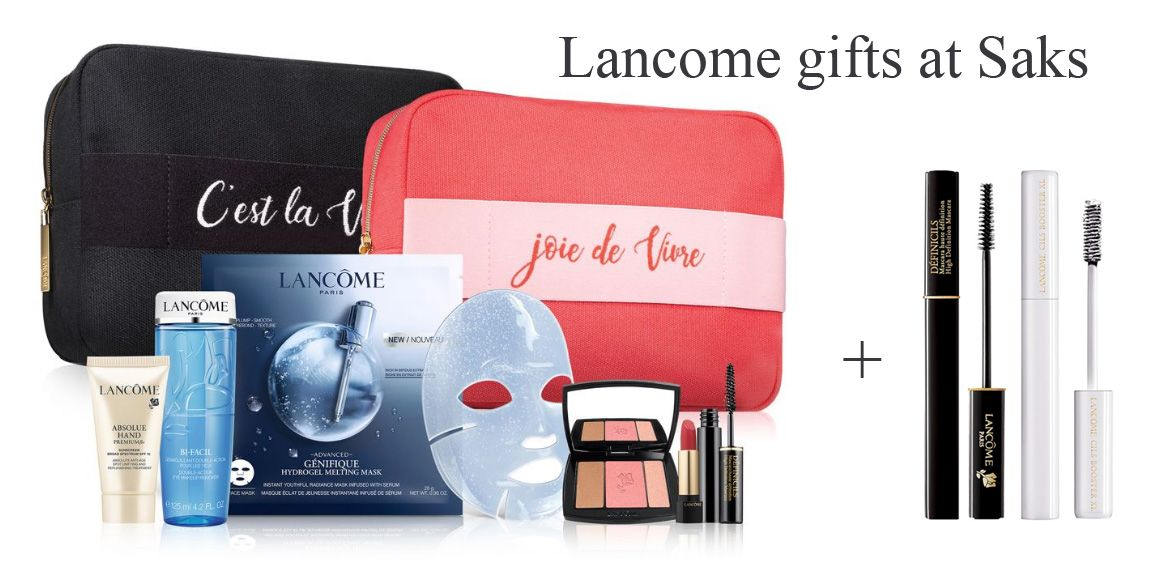 Lancome Gift Set With Purchase References