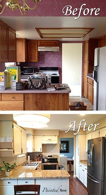 Home décor on a budget creating your dream kitchen by painting your