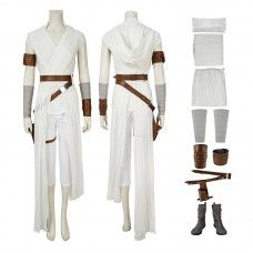 Rey Costume Star Wars 9 The Rise Of Skywalker Rey Cosplay Costume - CCosplay.com