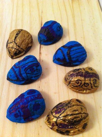 Escarabajos De La Suerte Egipcios Craft Kids Boys Book