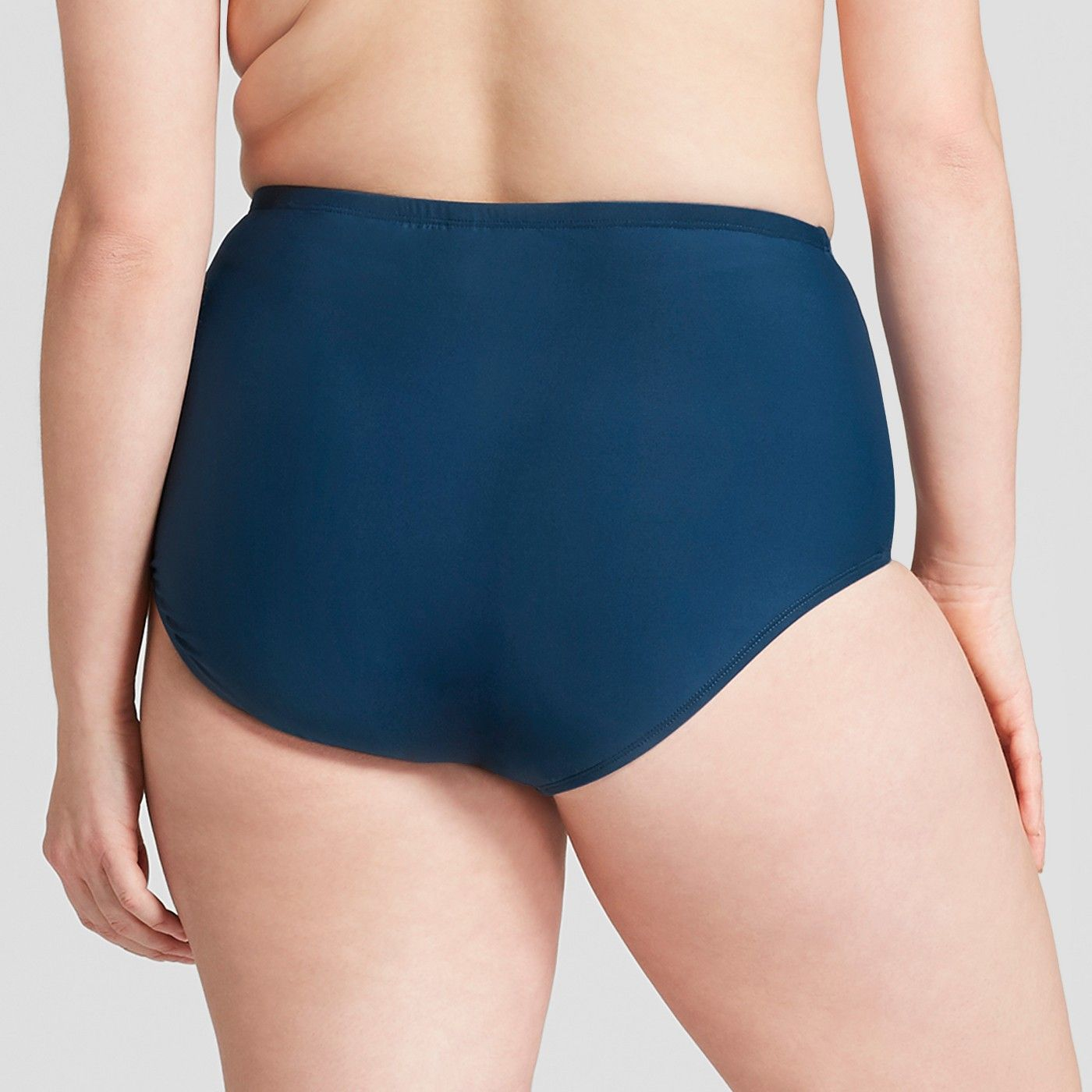 6af3c346f7 Social Angel Women's Plus High Waist Bikini Bottom - Navy 1X #Women, #High,  #Social