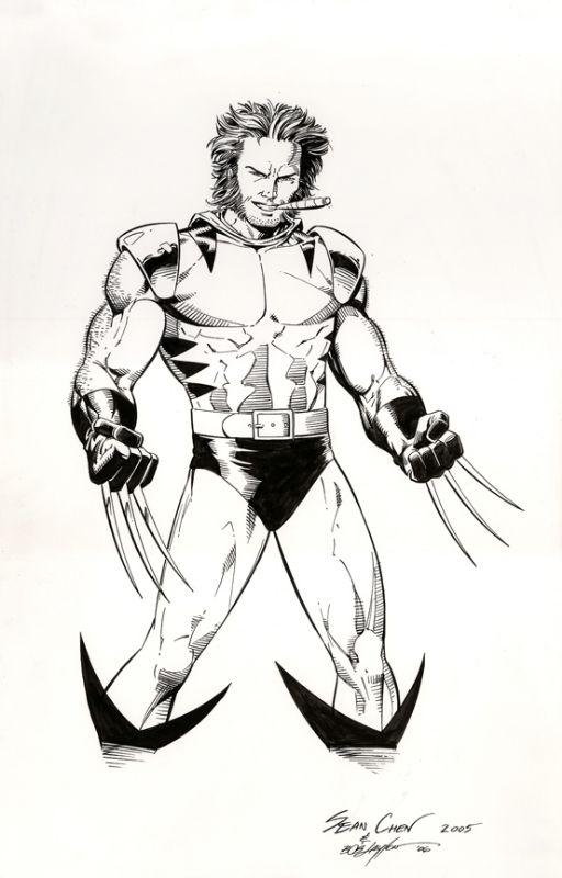 Wolverine by Sean Chen | Arte De Comics pep | Pinterest | Arte