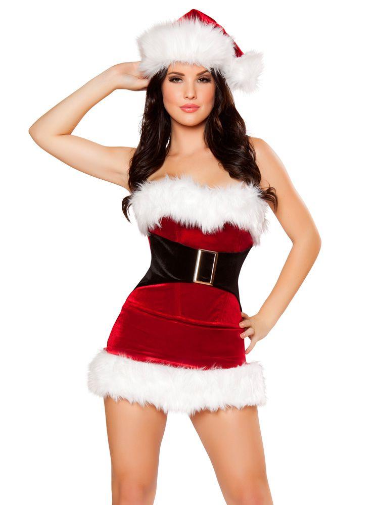 e998e360d657 Mistletoe Cutie Santa Costume - #christmas #santa #sexy #sexysanta #noel #