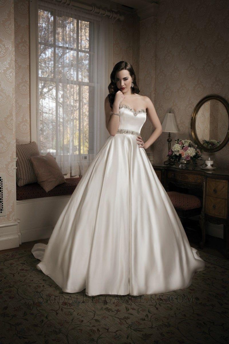 National Bridal Sale - Lace One Shoulder Wedding Gown | Bridal Elegance