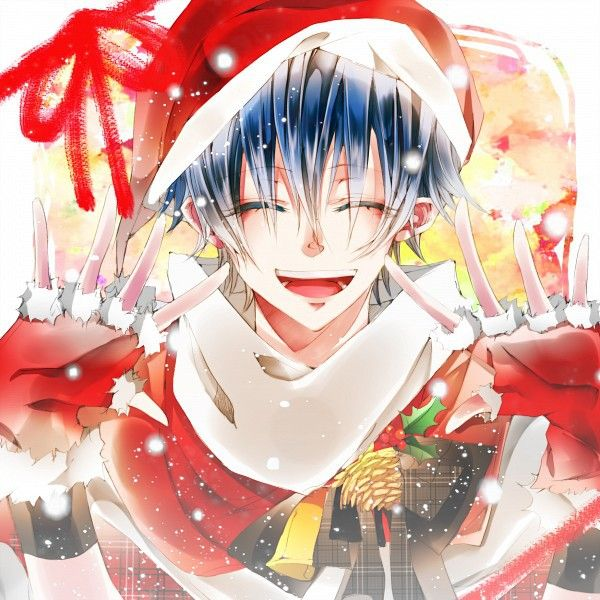 Christmas Anime Boy Anime Christmas Anime Anime Boy