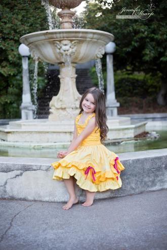 Alexia Girl's Party or Sun Dress and Top | YouCanMakeThis.com
