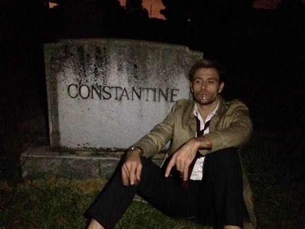 Constantine That Time The Crew Found A Real Constantine Matt Ryan Constantine Constantine Constantine Hellblazer