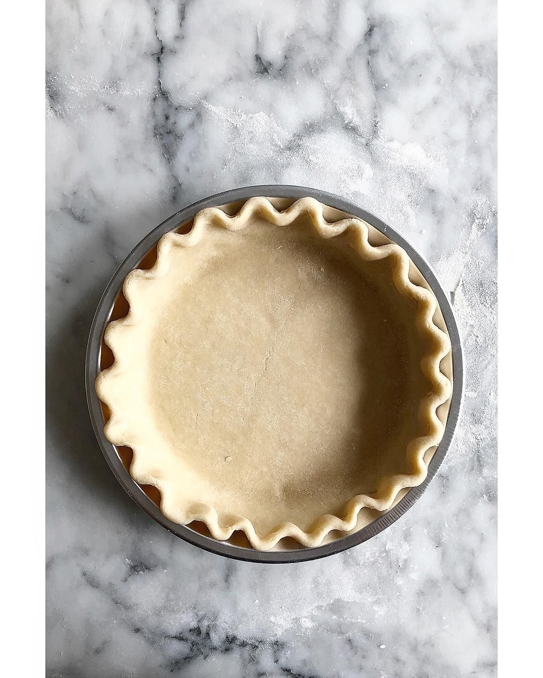 A Classic Crimp It Makes My Heart Pitter Patter We Made Almost 20 Batches Of Buttermilk Pie Dough Yesterday Amongst Other Th Food Pie Dough Homemade Recipes