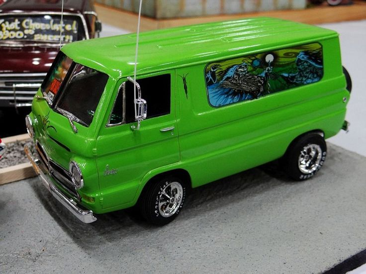 Awesome Model 1966 Dodge A 100 Van Keystone Klic S Work Nicely