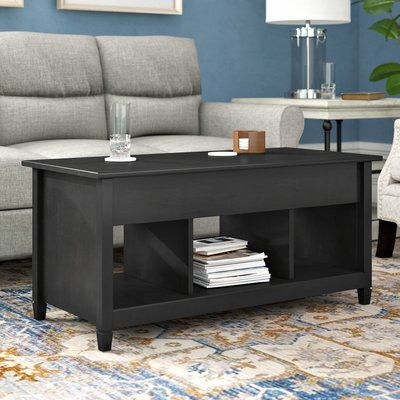 Three Posts Lamantia Lift Top Coffee Table With Storage Coffee
