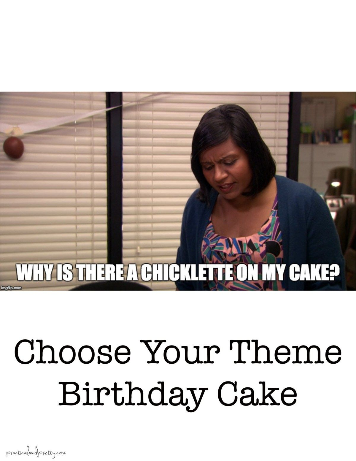The Office Birthday Food Themed Memes Practical And Pretty Office Themed Party The Office Happy Birthday Office Birthday Party
