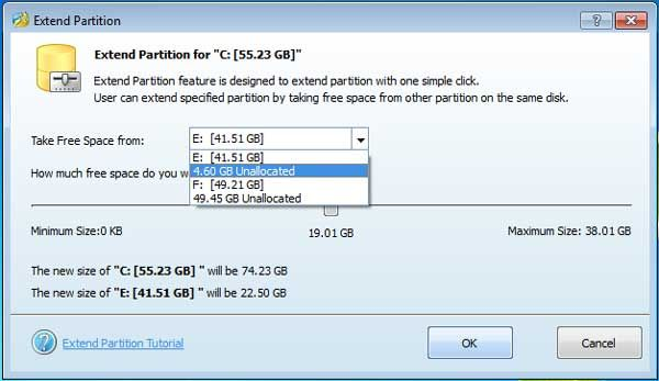 how to partition windows xp without formatting
