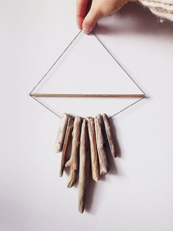 Driftwood Wall Hanging in love with this driftwood wall artsonadorainlove | geometry