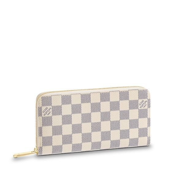 cea535f0ae0b View 1 - Damier Azur Canvas SMALL LEATHER GOODS WALLETS Zippy Wallet