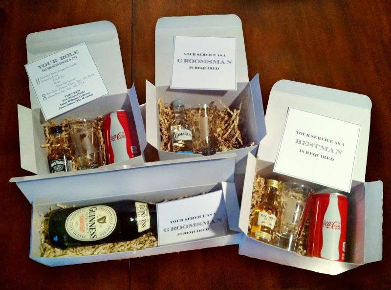 Wedding Party Gift Ideas Groomsmen: Groomsmen Invitation