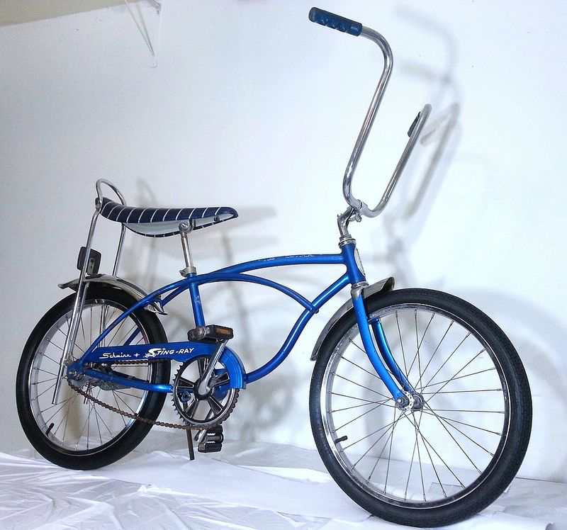 In 1963 Schwinn Introduced The Sting Ray The First Bike With A