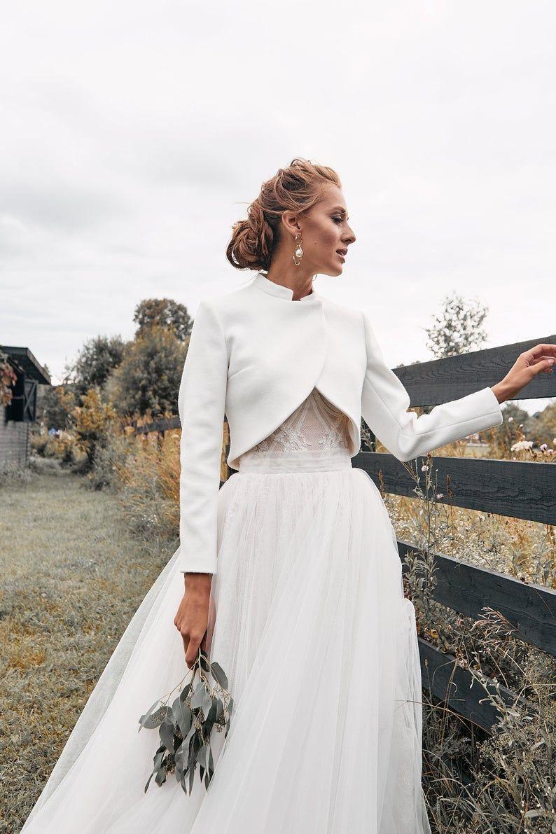 Bridal coat, Wedding cashmere coat, Wedding cover up, Coat