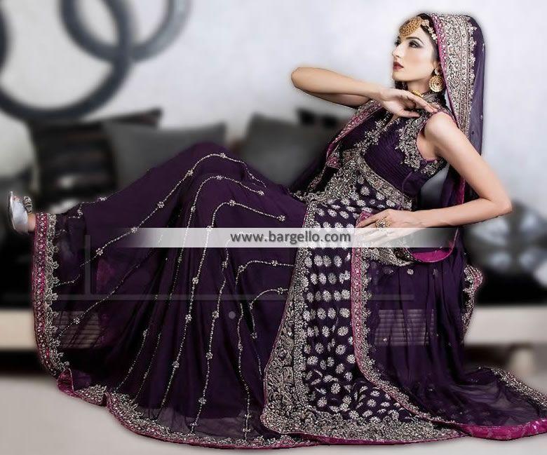 Trendy D Designer Bridal Dresses Chicago Illinois Pakistani Bridal Sharara IL USA Desi Bridal Dresses