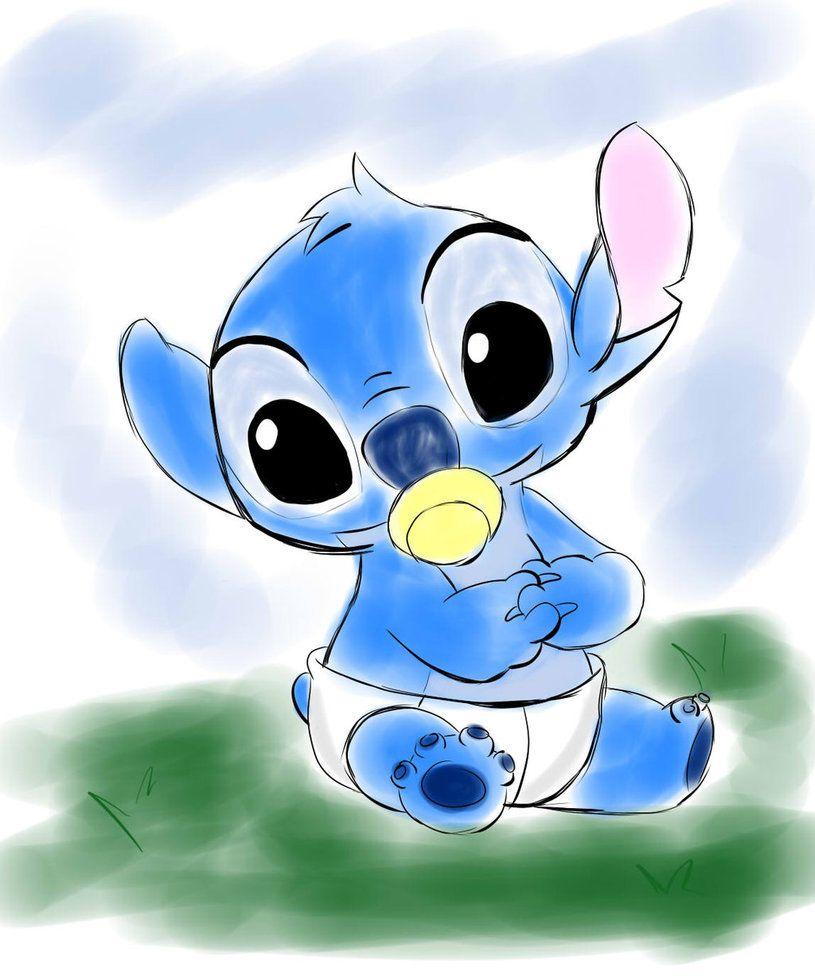 Stitch Baby By Kary22 Stitch Drawing Lelo And Stitch Stitch Cartoon