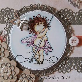 Stamping Bubbles : Fairy sew