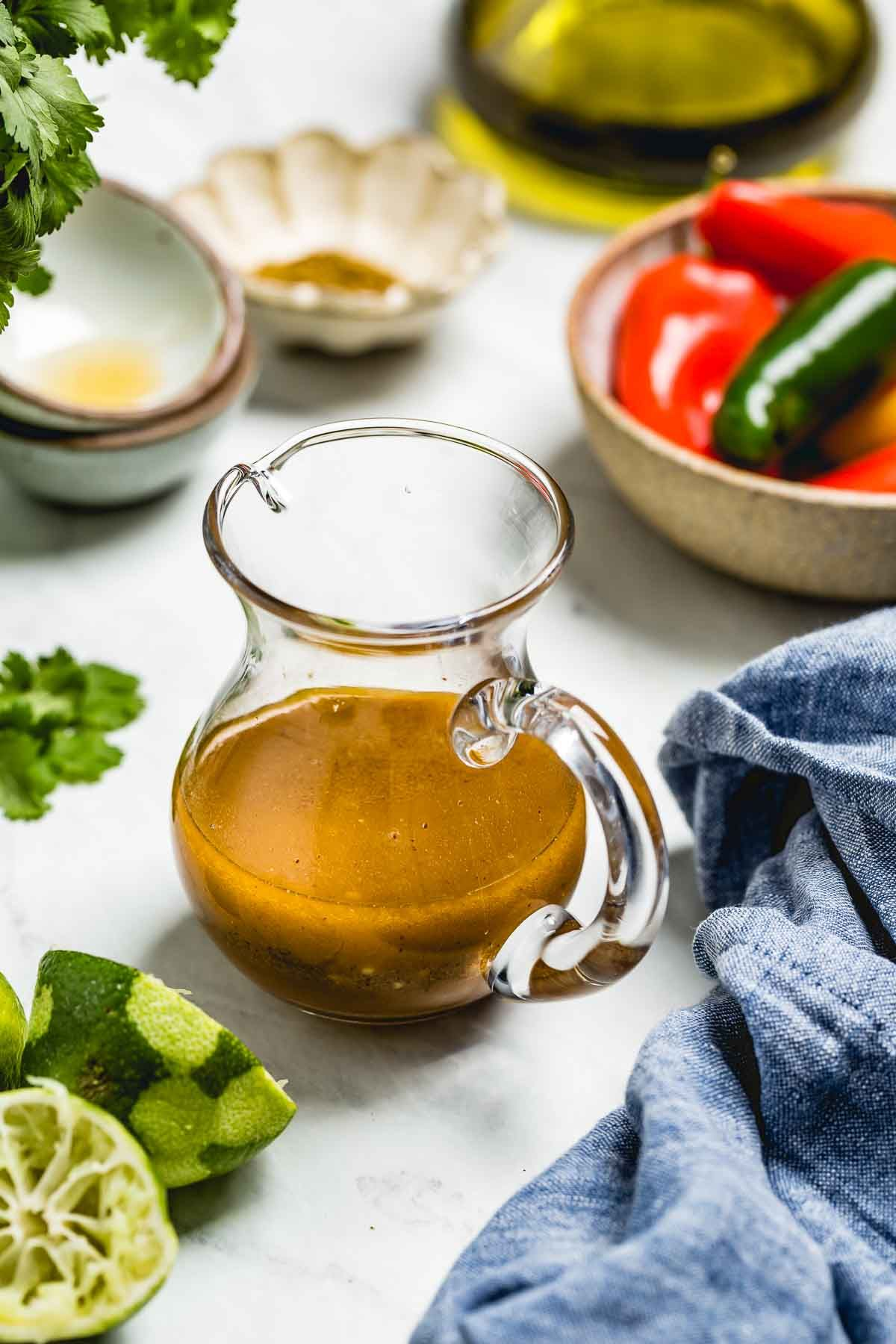 Chili lime vinaigrette dressing recipe foolproof living