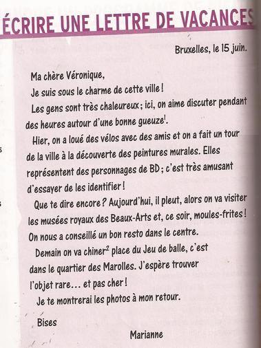 Modele De Lettre Formelle En Francais Degisco
