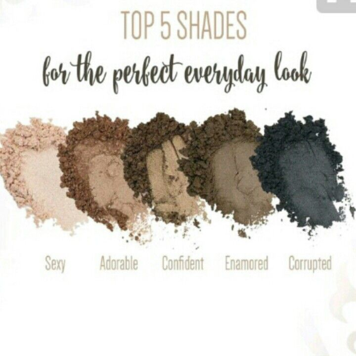Younique mineral pigment shadow singles