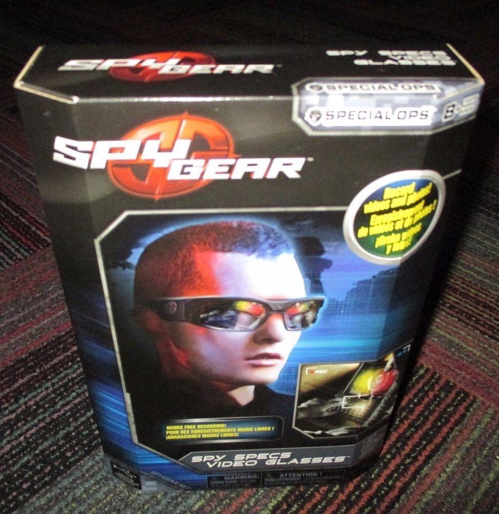 0d24b4d9c0f New spy gear spy specs video glasses