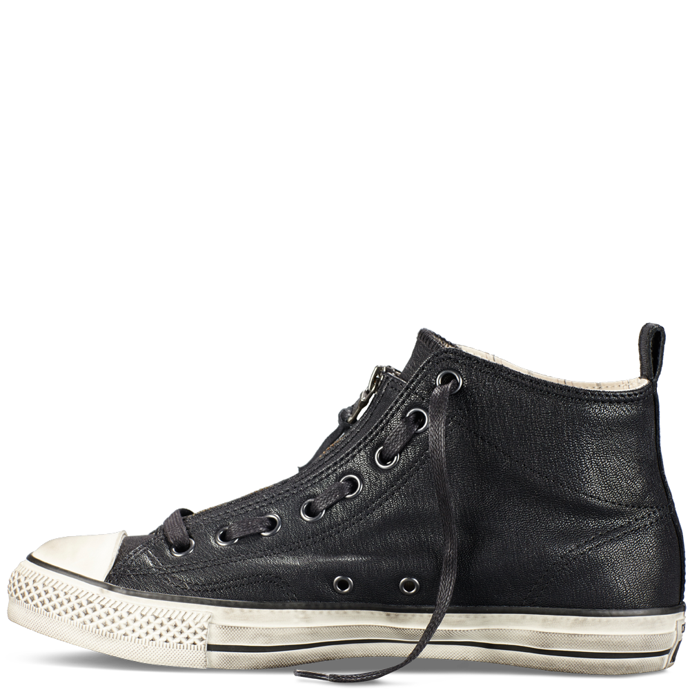 CONVERSE by JOHN VARVATOS - Sneakers - Men - Black zipped Snake Skin Sneakers for men
