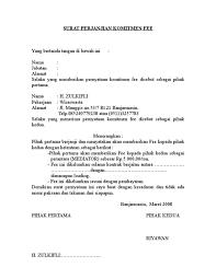 Hasil Gambar Untuk Contoh Surat Perjanjian Kerjasama Ok Pinterest