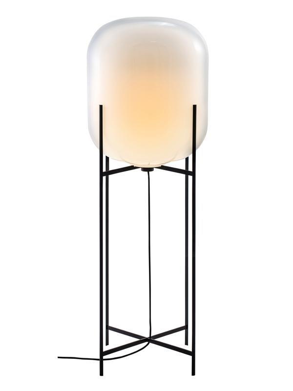 Oda Big In Black And White By Sebastian Herkner For Pulpo In 2020 Sebastian Herkner German Interior Design Floor Lamp