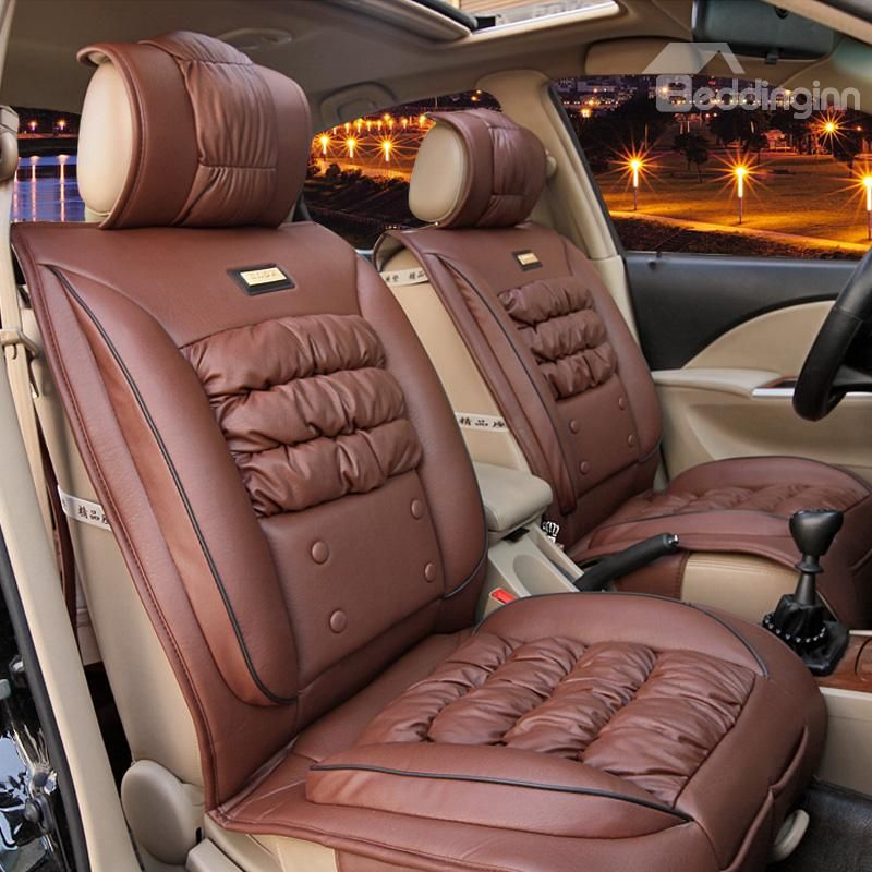 Ostrich Skin Like And Down Feather Luxury Car Set Covers Sports Cars Luxury Car Car Set