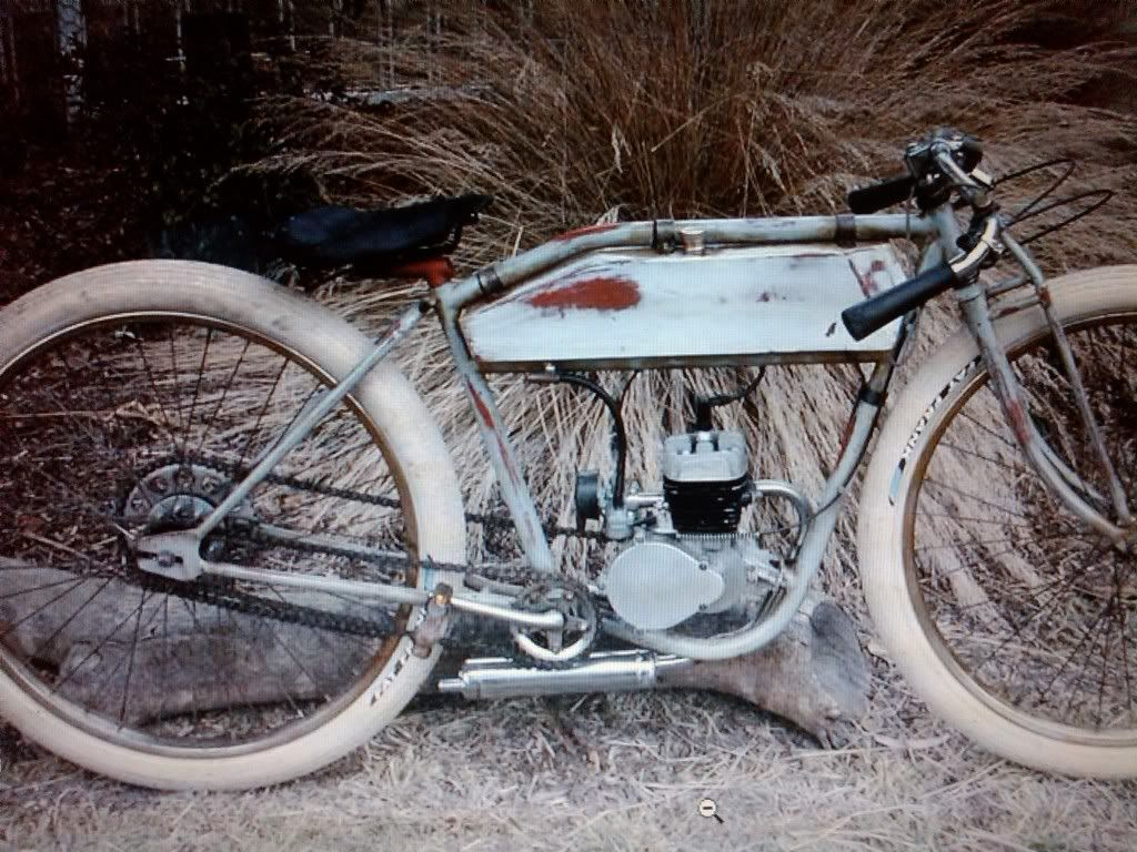 Who Built This Board Track Racer