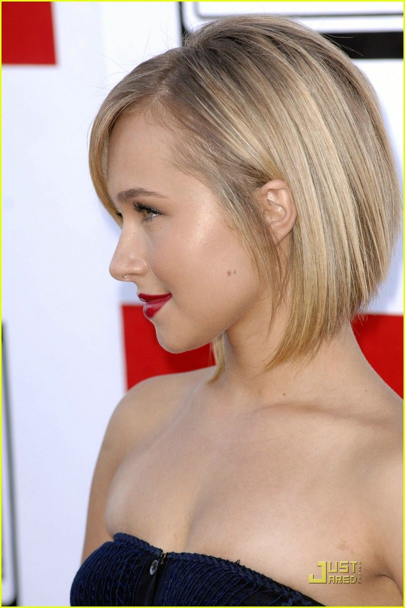 Hayden Panettiere Google Search Bob Hairstyles Layered Bob Hairstyles Bobs Haircuts