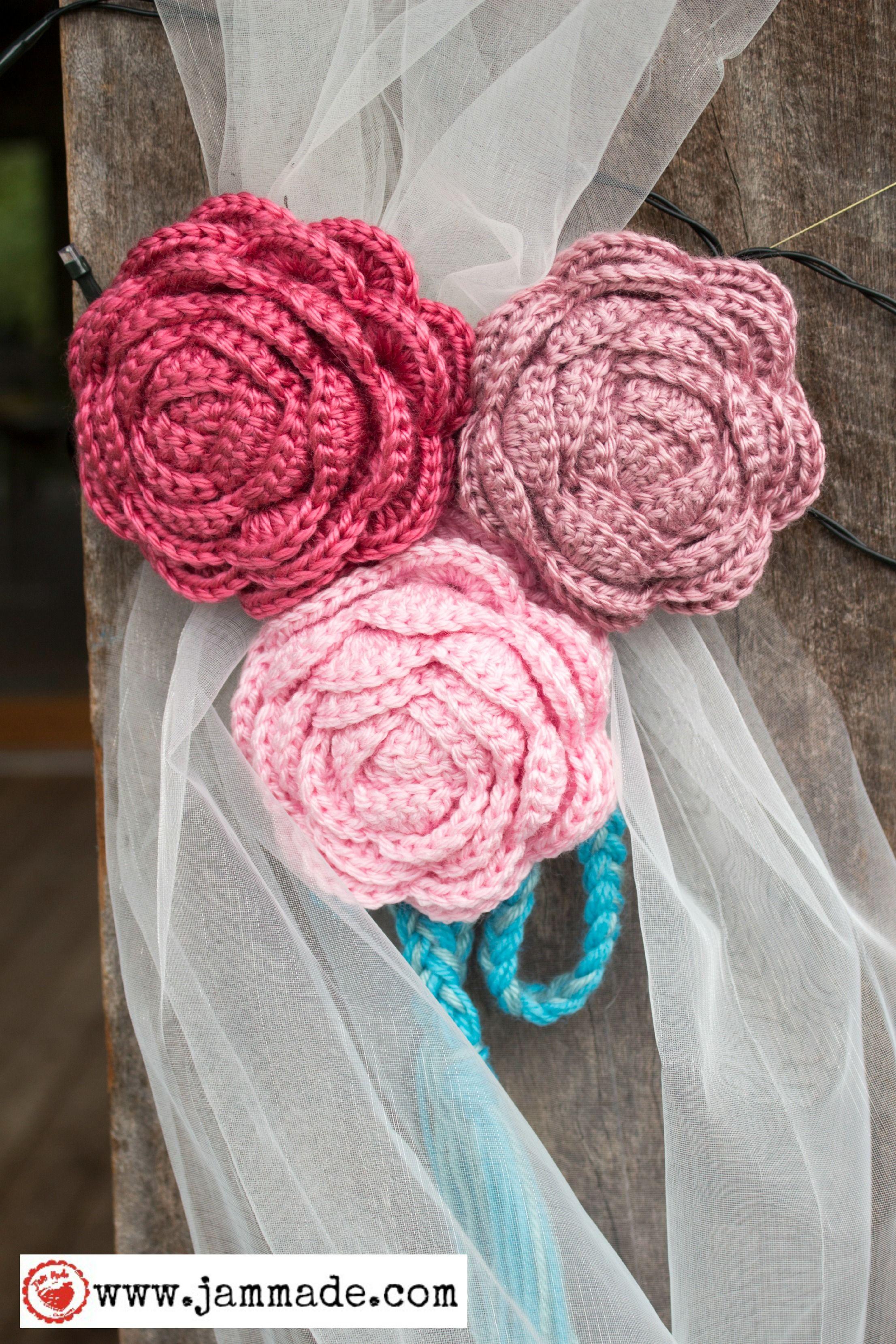Jam made wedding - curtain ties   Crochet n Knit   Pinterest ...