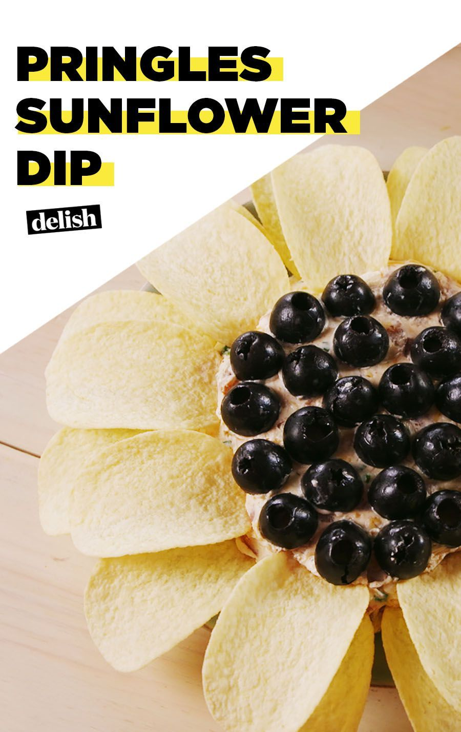 Photo of Pringle Sunflower Dip Is The Funnest Party Dip