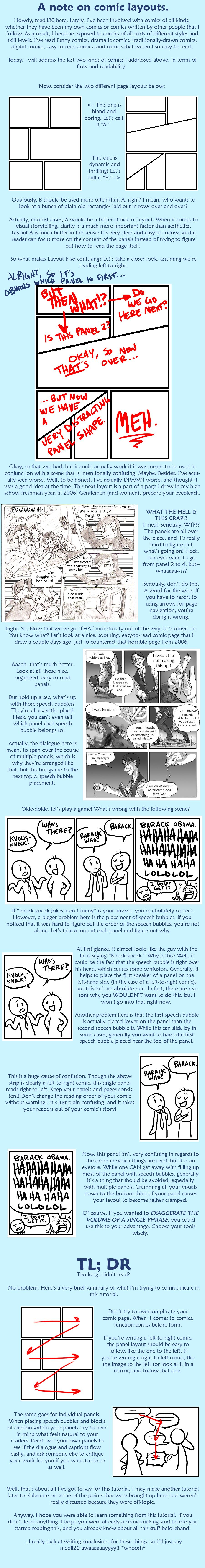 Tutorial Comic Layouts By Medli20 On Deviantart Comic Layout Comic Tutorial Drawing Tutorial
