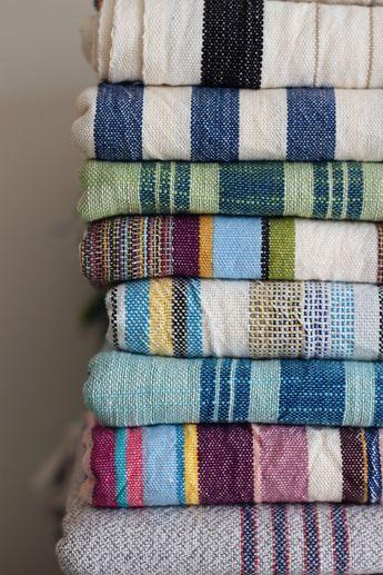 Boho Lightweight Beach Towel, Cotton Linen Peshtam