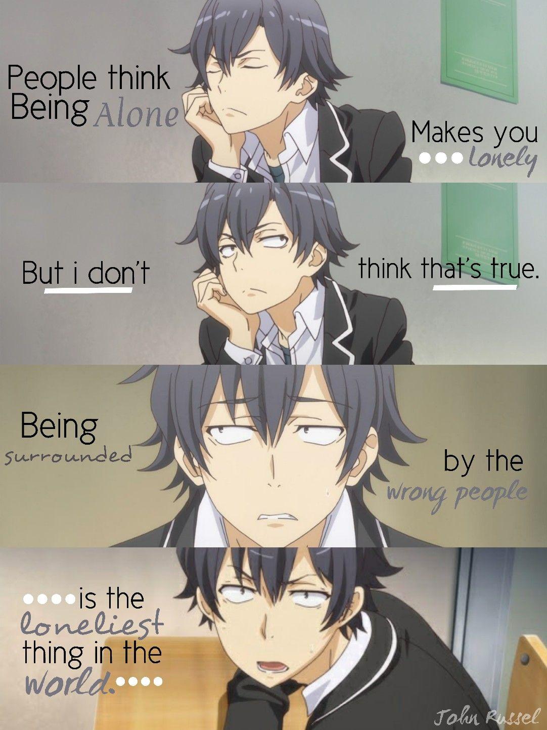 Oregairu Anime Quotes Anime Quotes Inspirational Manga Quotes