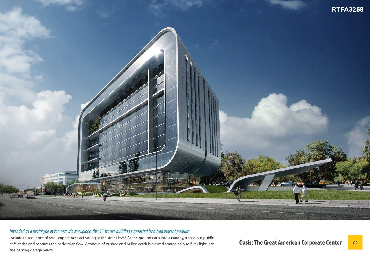 Second Award | Office Building (Concept)