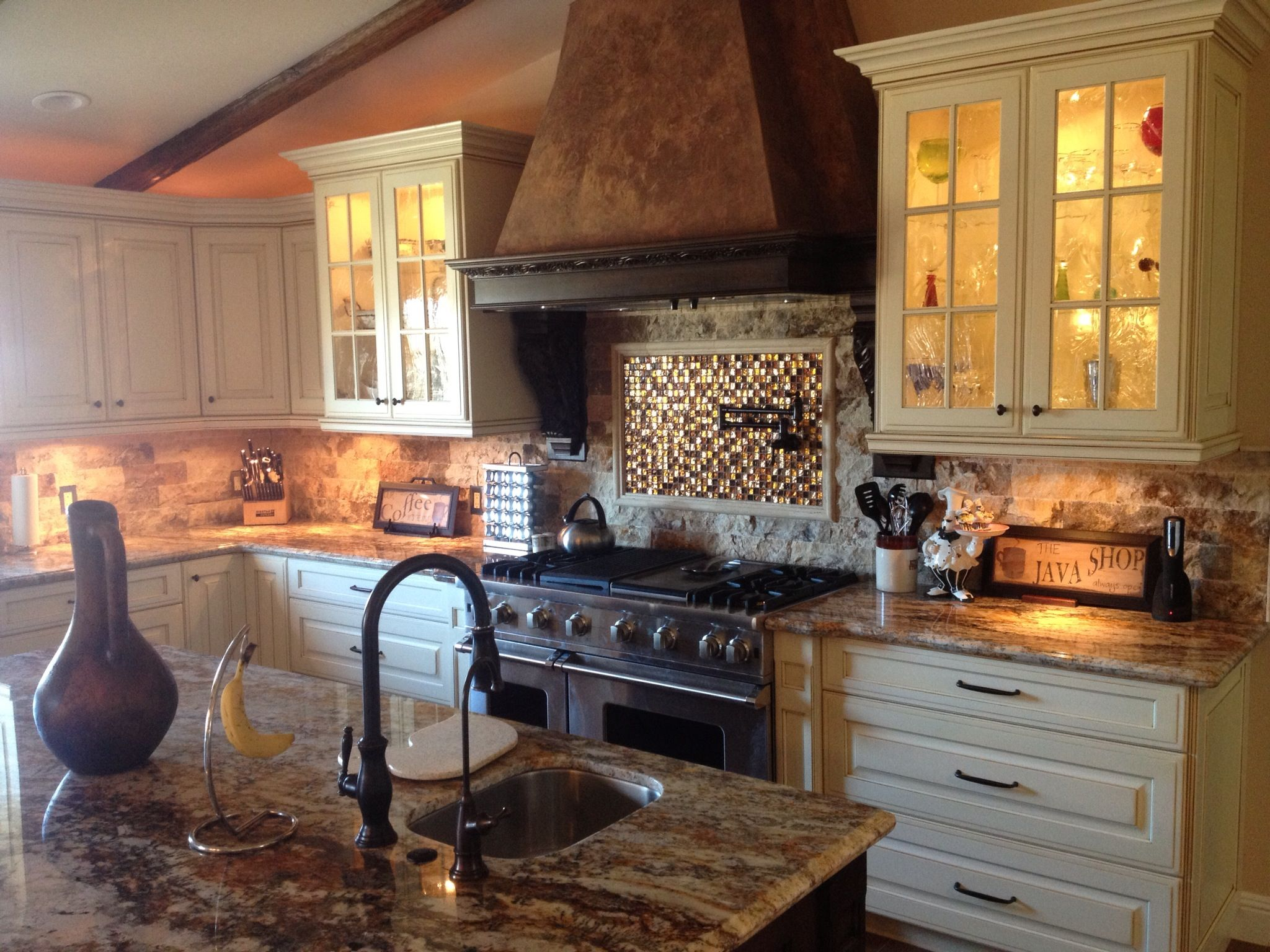 Temecula dream kitchen LOVE this backsplash!! | Kitchen ...